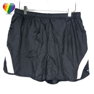 Champion Black Athletic Running Shorts A090548